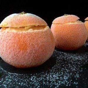 Clémentines givrées http://cuisine.journaldesfemmes.com/recette/360169-clementines-givrees