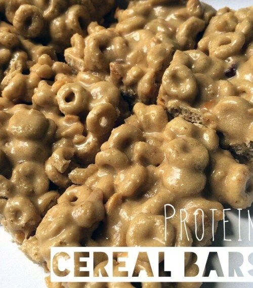 Honey Nut Cheerio Protein Cereal Bars