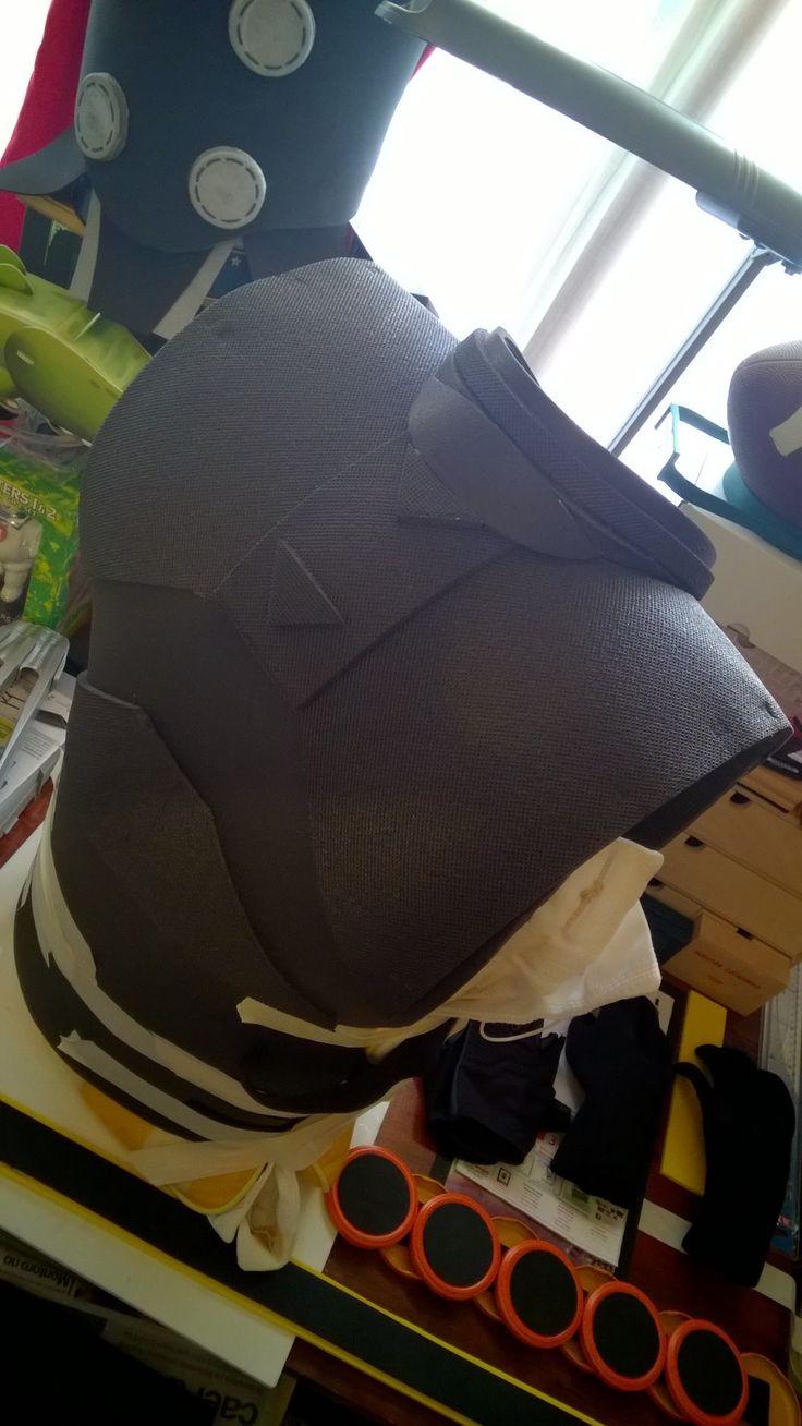 Wolverine chest in progress 5