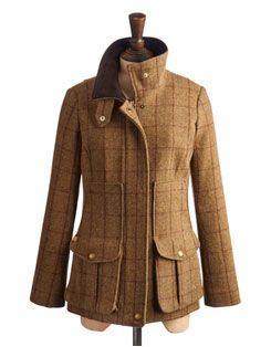 FIELDCOAT Womens Tweed Fieldcoat