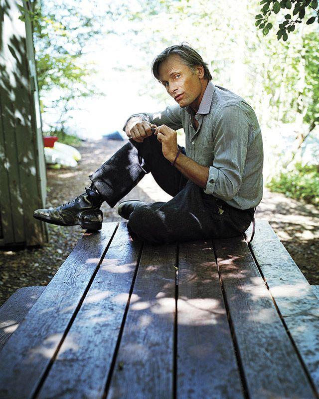 Viggo Mortensen by Marc Hom
