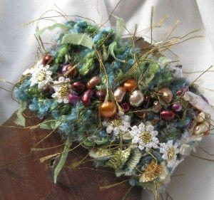 Dryad Garden Bead Embroidered Fiber Art Bracelet | review | Kaboodle