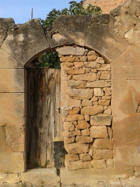 Ancient door /Puerta antigua. Lleida (Catalonia)