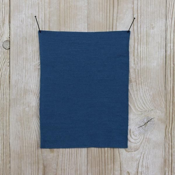 Premium Milled Merino Storm Blue Buy online at The Fabric Store online