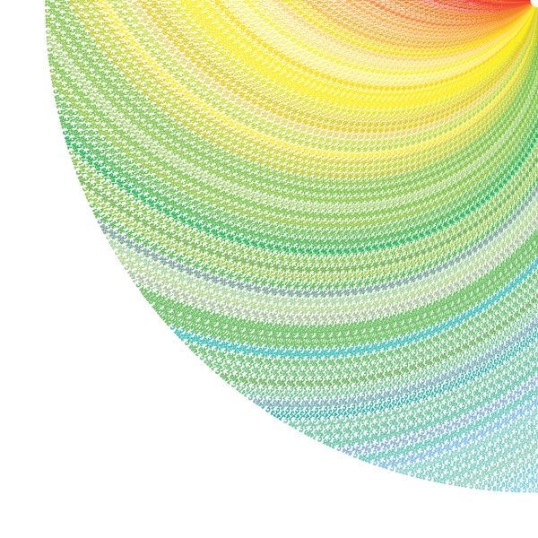 The core of this project was to come up with different graphs that represent PANTONE solid coated spectrum. 1138 PANTONE colors codes were converted to RGB automatically in Adobe Illustrator. No colors were changed in the process.