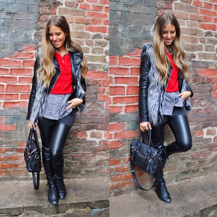 #leatherpants Perfect for Winter