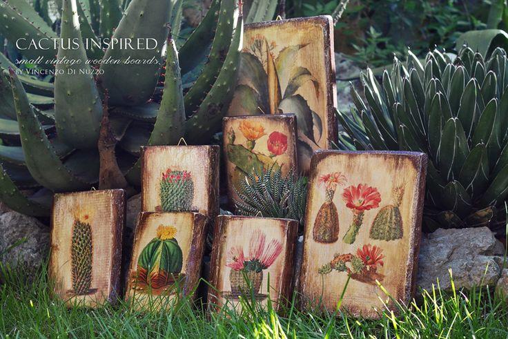 Деревянные таблички от Vincento Di Nuzzo