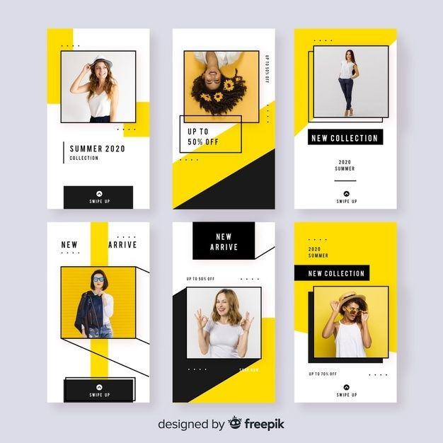 Fashion Sale Instagram Stories Free Vect Free Vector Freepik Freevector Busi In 2020 Instagram Design Instagram Template Design Social Media Design Inspiration