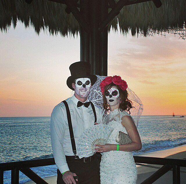 Dia De Los Muertos Wedding Theme Ideas: 75 Best Images About Dia De Los Muertos Bride & Groom