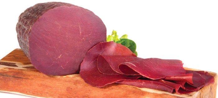 dukan diyeti besin listesi bresaola