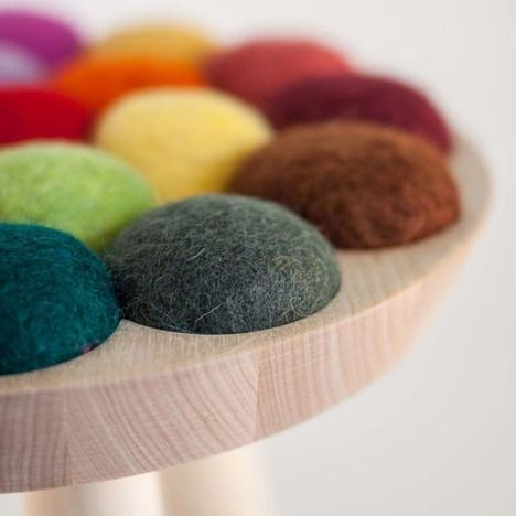 WOOL STOOL BY AUD JULIE BEFRING