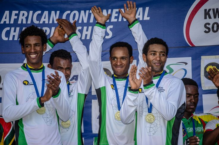 African Continental Championships 2015  TTT -Eritrea.