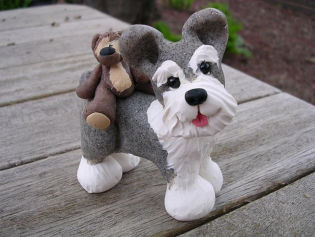 this Flicker site has some absolutely adorable photos of clay creations....gotta check it out!