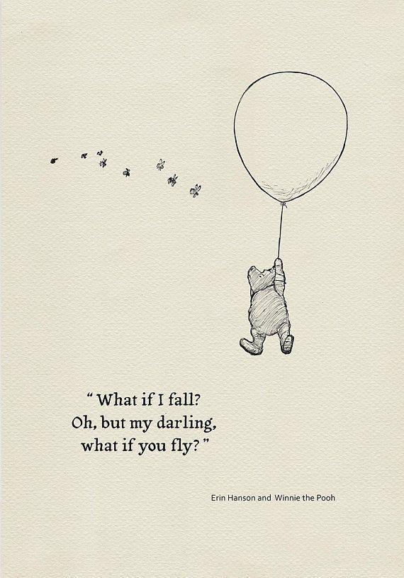 Was ist, wenn ich falle, aber mein Liebling, was, …