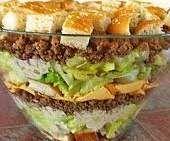 Hamburger Salat