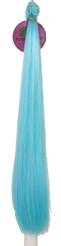 Details about Short Weft – Sky Blue Synthetic Hair 17 inches in length 40 inches long NEW