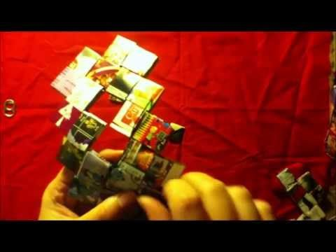 ▶ How To Make A Square Candy Wrapper Bag / Purse Part 1 - YouTube