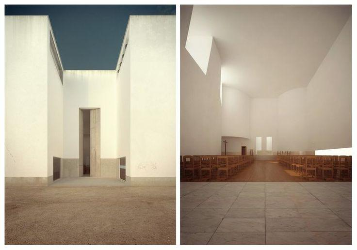 Igreja do Marco de Canaveses, 1996 Álvaro Siza
