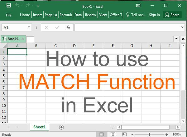 Match Function Match Function Is Used To Locate Position Of Given Value From The Data Microsoft Excel Excel Excel Tutorials