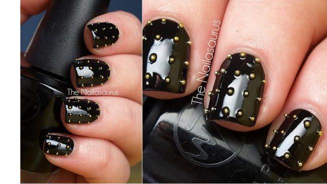 Gotycki manicure - super pomysły na czarne paznokcie - Strona 2