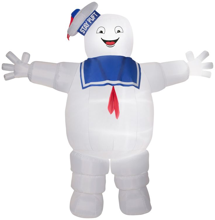 9' Airblown Stay Puft Ghostbusters Giant Halloween Inflatable