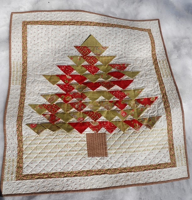 gorgeous quilted tree