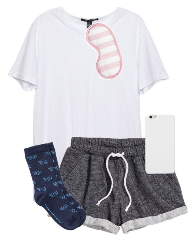 """""""There's a reason I stay up at night"""" by sarab873 ❤ liked on Polyvore featuring H&M and Vineyard Vines"""