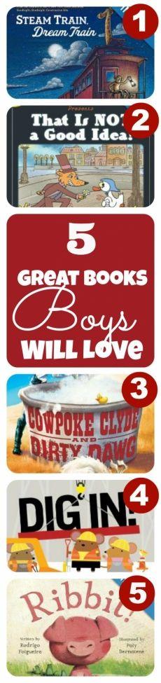 5 Good Books for Boys We're Loving This Week http://spaceshipsandlaserbeams.com/blog/2013/07/boyish-charm/5-books-were-loving-this-week