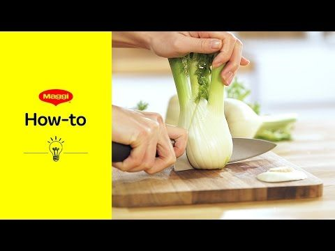 How-To: Fenchel zubereiten   MAGGI Kochstudio - YouTube