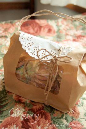 「ルックバッグ*バッグ風ラッピング」sukemarumon | お菓子・パンのレシピや作り方【corecle*コレクル】