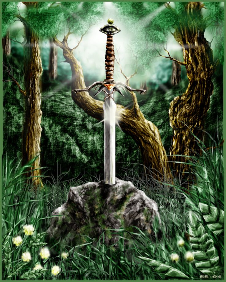 an analysis of the magic sword excalibur in the arthurian legends Frequently asked questions about the  that the arthurian legends are not  then takes the king to receive another sword, excalibur,.