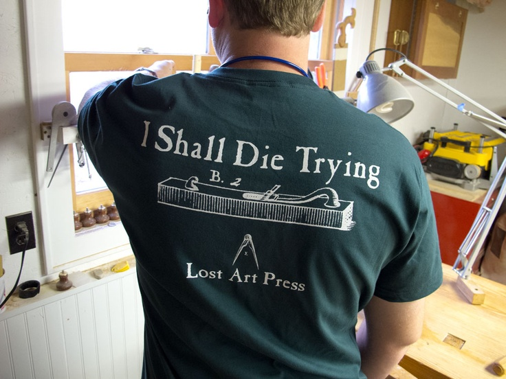 New T-shirt: I Shall Die Trying