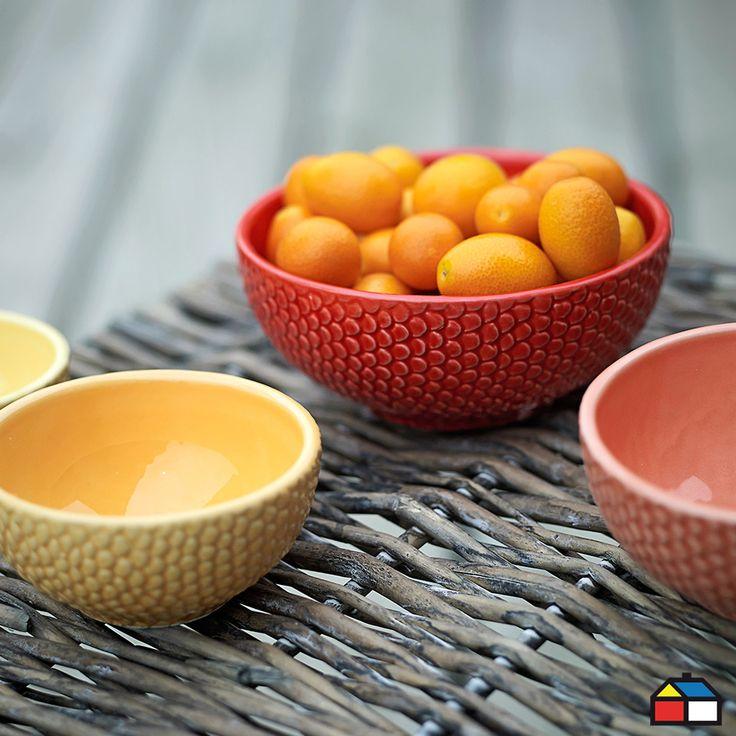 Set de 4 bowl #terraza #jardin
