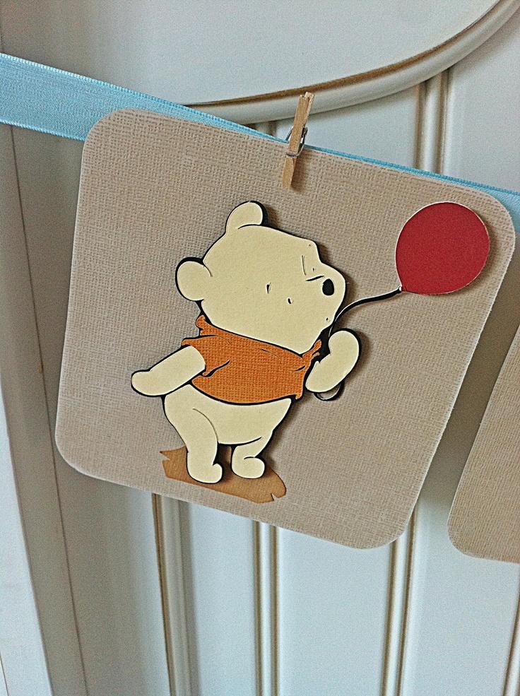vintage winnie the pooh baby shower
