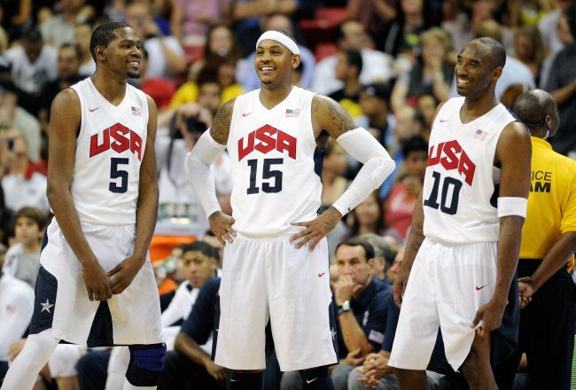 2012 Men's USA Olympic Basketball Team