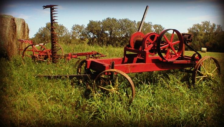 Old Time Farm Equipment Farm Implements Pinterest Farms