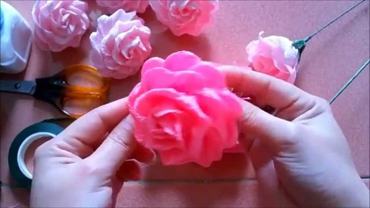 Special rose paper flower - full video: https://www.youtube.com/watch?v=44ka2uG8Lhw