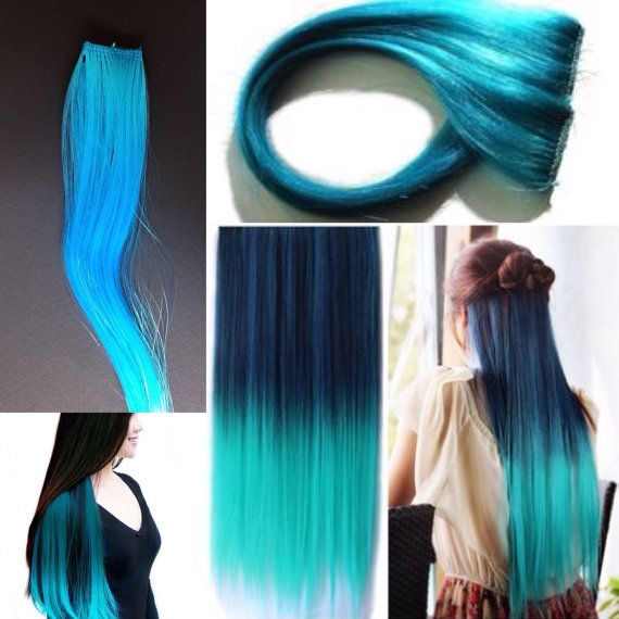 Best 25 blue hair extensions ideas on pinterest colored hair metallic blue hair extensions pmusecretfo Image collections