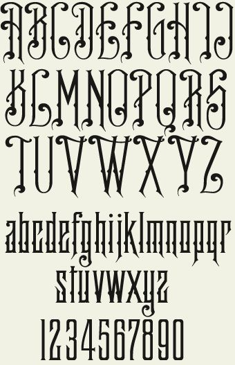 find this pin and more on fonts - Decorative Fonts