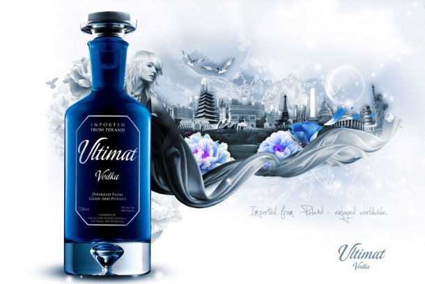 Ultimat Vodka por Neil Duerden