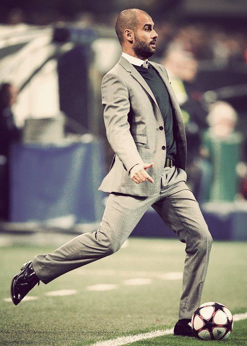 Pep Guardiola, entrenador del FC Barcelona
