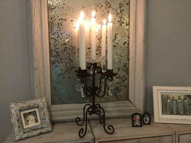 20 beste idee n over shabby chic spiegel op pinterest. Black Bedroom Furniture Sets. Home Design Ideas