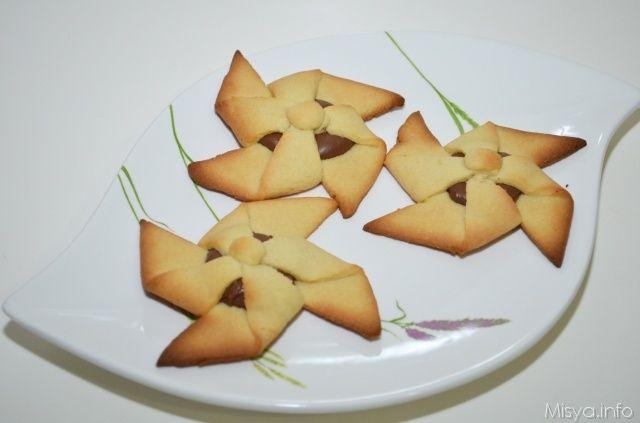» Girandole alla nutella Ricette di Misya - Ricetta Girandole alla nutella di Misya