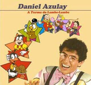 a turma do lambe lambe com Daniel Azulay