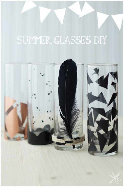 little.empty.room: DIY . summer glasses