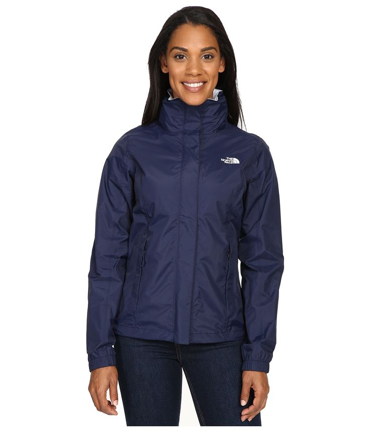 THE NORTH FACE THE NORTH FACE - RESOLVE JACKET (COSMIC BLUE/ARTIC ICE BLUE) WOMEN'S COAT. #thenorthface #cloth #