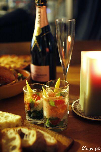 クリスマス飯は手抜き : coupe-feti