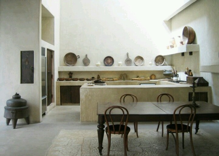 Yum.  Modern rustic kitchen