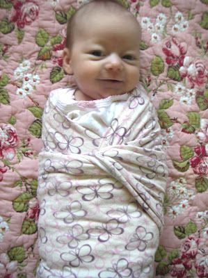 How to DIY swaddle with a SQUARE baby blanket...OLD SCHOOL without spending the extra $$ on those wacky new blankets.