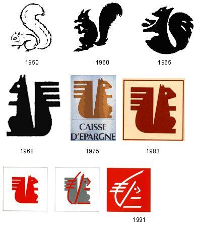 caisse d 39 epargne l 39 animal dans le logo de marque the animal in t. Black Bedroom Furniture Sets. Home Design Ideas